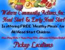 Free Meals for Head Start/Early Head Start